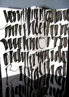 love lettering as a visual device. not necessarily legible, but still expressive and communicative