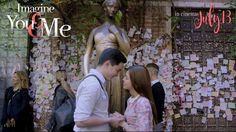 Kalyeserye made a huge twist hinting Divina's name change reflecting the real Maine Mendoza on and off screen. A major break for Alden and Maine their very first solo movie together, Ima­gine You & Me. Maine Mendoza, Alden Richards, Lake Como Italy, You And I, Couple Photos, Movies, Gma Network, Conversation, Blogging