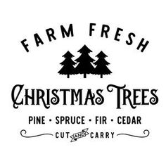 Silhouette Design Store: christmas trees cut carry #christmastree