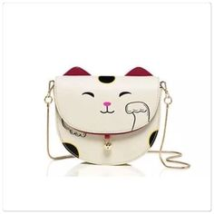 Kate Spade tonti cat purse Kate Spade tonti cat purse.  Measure approx 7x6x2. Brand new with tags. So adorable!   offers or trades. PRICE IS FIRM!  kate spade Bags