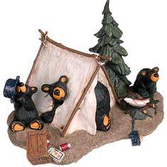 Bear Country Gallery, Home of Big Sky Bears and Bearfoots Bears Country Decor, Rustic Decor, Big Bear Camping, Black Bear Decor, Scandinavian Bedroom, Love Bear, Lodge Decor, Big Sky, Holiday Decor