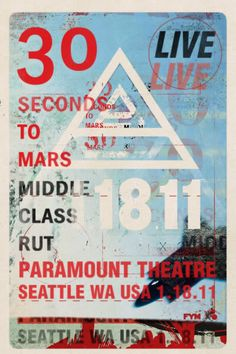 30 Seconds to Mars by FYM