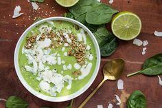 Green Tea Lime Pie Smoothie Bowl – Oh She Glows