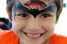 Bat Face Painting