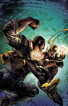 Power Man & Iron Fist #10 (Mike Deodato Jr. Variant)