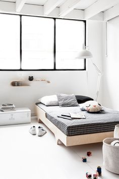 modern bed for a child from Rafa-kids