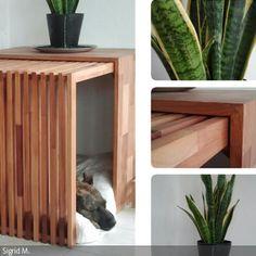 Dieses moderne Möbelstück ist perfekt getarnt als Hundehütte - ein Traum für jeden Interior-Liebhaber.  Diese Designer-Hundehütte wächst zusammen mit Ihrem …