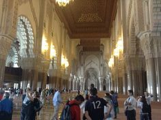 Job 5 : SPIE Maroc,société de l'industrie éléctrique - Tolotra au Maroc, visite de la mosquée Hassan II #Waytowork #adecco2013 http://adecco.fr