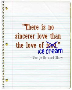 Quotes About Ice Cream