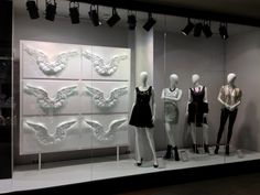 Reserved Christmas decoration windows display by van den blocke, East Europe » Retail Design Blog