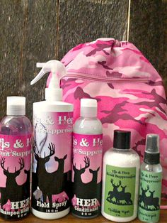 His & Hers Scent Suppression....on FB