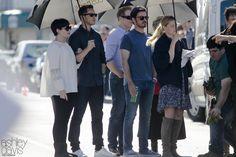 "Josh Dallas, Ginnifer Goodwin, Jennifer Morrison and Colin O'Donoghue - Behind the scenes - 6 * 1 ""The Savior"" - 13th July 2016"