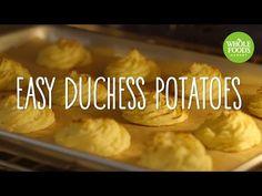 Easy Duchess Potatoes   Freshly Made   Whole Foods Market - YouTube