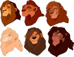 Lion Busts: Closed by oCrystal on DeviantArt Kiara Lion King, Lion King 4, Lion King Story, Lion King Fan Art, Lion Art, Anime Lion, Anime Furry, Lion King Images, The Lion King Characters
