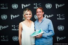 SHOE-IN WITH ADIDAS AT THE UN! How Parley for the Oceans​ and adidas​ teamed up to create this beautiful recycled training shoe, plus my interview with Adidas Boardmember Eric Liedtke about the future of the company! Click the pic to get it all...