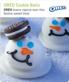 Get Your Holiday Parties Started  A WINNER AT ANY PARTY FOR SURE !! OREOS !!!