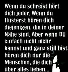 Sprüche German Quotes, German Words, Wonder Quotes, Truth Of Life, More Than Words, True Words, True Quotes, Cool Words, Decir No