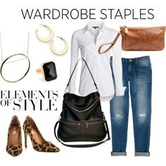 What to Wear: Wardrobe Staples by brynn-capella on Polyvore featuring NIC+ZOE, #RebeccaMinkoff, #Mia Limited Edition, Brynn Capella, Ringly, ABS by Allen Schwartz, #VeraWang and #JulietJewelry.