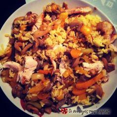 Ελληνικό κινέζικο Fried Rice, Fries, Chinese, Ethnic Recipes, Kitchen, Food, Cooking, Kitchens, Essen