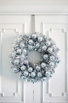 Disco Ball Wreath - Holiday DIYs That Are So Elevated - Photos