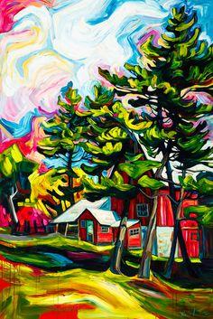 Red Barns - Julia Veenstra