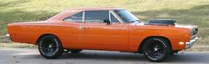 My uncle had this car when I was growing up in L.A. in the early 70's. I still think they are so damn cool. 1969 Plymouth RoadRunner.