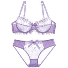 14.14$  Buy now - http://dil0z.justgood.pw/go.php?t=201834567 - See-Through Embroidered Bowknot Bra Set