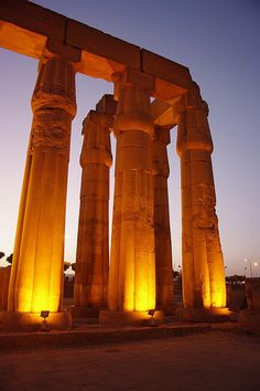 Temple of Luxor, Egypt♥ Stunning, classic jewelry: www.bluedivadesigns.wordpress.com #bluedivagal