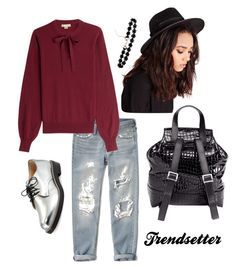 Trendsetter by musiclover4701 on Polyvore featuring polyvore, fashion, style, Michael Kors, Abercrombie & Fitch, Jimmy Choo, H&M, Missguided, women's clothing, women's fashion, women, female, woman, misses and juniors