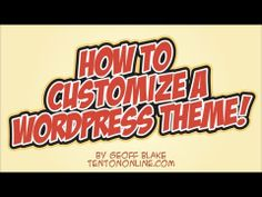 """How to Build A Custom WordPress Theme"" by Geoff Blake, TenTonOnline.com - http://www.xb-build.com/how-to-build-a-custom-wordpress-theme-by-geoff-blake-tentononline-com/"