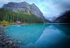 Lake Louise, Canadá. Lugar inesquecível....