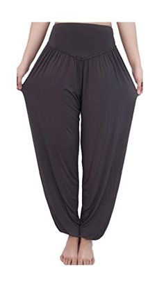 ARJOSA Women's Yoga Lounge Pants High Waist Cotton Spandex Leggings (S, Ash) ** You can get additional details at the image link.  This link participates in Amazon Service LLC Associates Program, a program designed to let participant earn advertising fees by advertising and linking to Amazon.com.