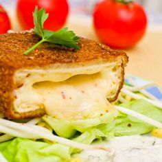 A decadent and delicious cheese meant for very special occasions.. Melt In Your Mouth Deep Fried Brie Recipe from Grandmothers Kitchen.