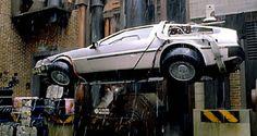 ¿Y el auto de Volver al futuro?