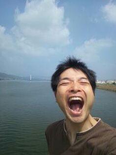 海と空と大笑いあーくん