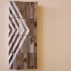 Directional Reclaimed Wood Sign ~ Possible DIY | Nesta Home