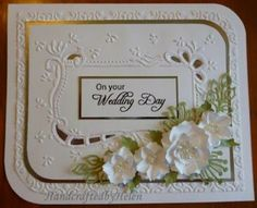 embossing technique cards