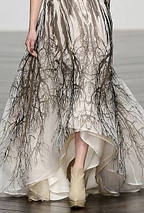 tree branches dress