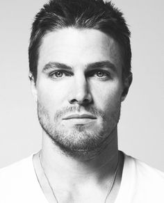 Stephen Amell from Arrow. I am obsessed with superheroes, especially Mr. Queen