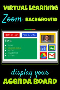 Teaching Tips for Distance learning: Customize this free virtual learning agenda board template for your next class session or meeting! Teaching Technology, Educational Technology, Instructional Technology, Instructional Strategies, Educational Toys, Technology Humor, Technology Lessons, Technology Design, Teaching Tips