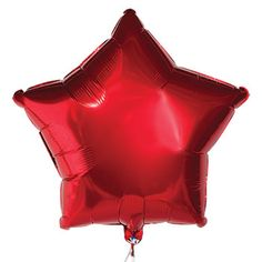 Red-hot star foil balloons will add a little spice to any celebration — team parties, showers, holidays, and more! Add to a flower arrangement, basket or gift... or create a giant bouquet to mak