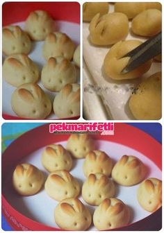 15 of The Most Creative Easter Bread Recipes - Health Food Easter Bread Recipe, Easter Recipes, Easter Food, Easter Cake, Easter Treats, Easter Bunny, Cute Food, Good Food, Yummy Food