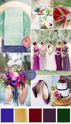 Jewel Tone Wedding Theme { 17 ideas to Use Jewel Tones } http://www.itakeyou.co.uk/wedding/jewel-tone-wedding-theme #jeweltone #wedding #weddingtheme
