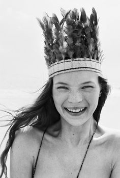 """Beauty as Freedom"": Kate Moss"