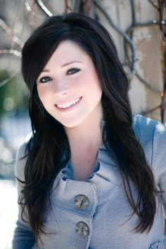 Kari Jobe. Christian artist ( singer ) I love her hair and makeup and voice and everything else!!!!