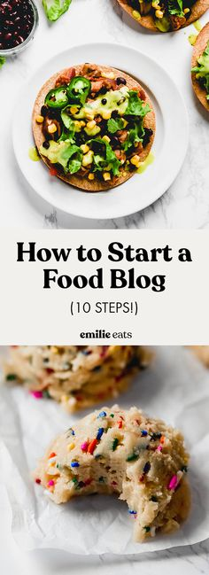 Starting a food blog can be overwhelming. Use this free guide to take the first steps toward the blog of your dreams. Detailed and comprehensive! Best Vegan Desserts, Best Vegetarian Recipes, Vegan Dessert Recipes, Vegan Recipes Easy, Whole Food Recipes, Vegan Food, Vegan Vegetarian, Salad Recipes, Healthy Food
