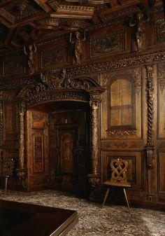 Ancient Castle Door, Switzerland