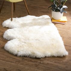 Allison White Area Rug