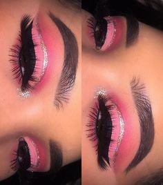 Gorgeous Makeup: Tips and Tricks With Eye Makeup and Eyeshadow – Makeup Design Ideas Makeup Eye Looks, Cute Makeup, Eyeshadow Looks, Glam Makeup, Gorgeous Makeup, Pretty Makeup, Skin Makeup, Makeup Inspo, Eyeshadow Makeup
