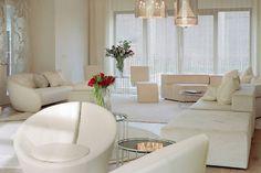 White Interior Design: The Kensington House – Adorable Home Ikea Living Room, Living Room Colors, Small Living Rooms, Interior Design Living Room, Living Room Designs, Modern Living, Interior Decorating, Design Room, Luxury Living